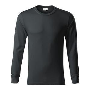 Tričko s dlouhým rukávem Resist LS - Ebony gray | M