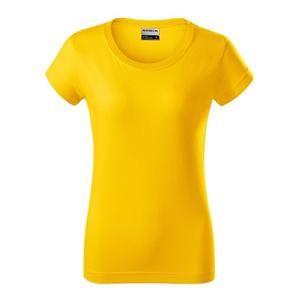 Dámské tričko Resist - Žlutá | XXXL