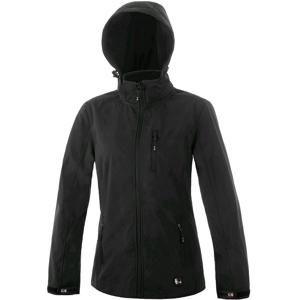 Dámská softshellová bunda DIGBY - Černá / černá | XXXXL