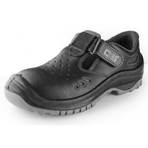 Pracovní sandály SAFETY STEEL IRON S1 - 48