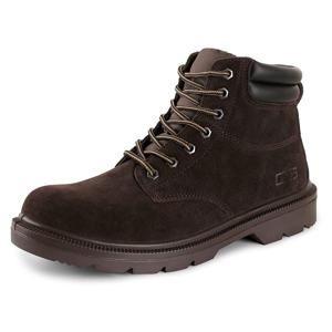 Pracovní obuv farmářky s ocelovou špicí CXS WORK S1 - Hnědá | 37