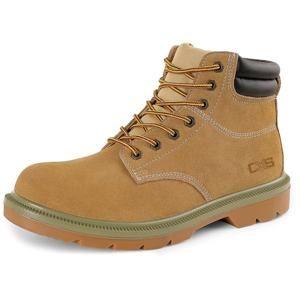 Pracovní obuv farmářky s ocelovou špicí CXS WORK S1 - Písková | 44