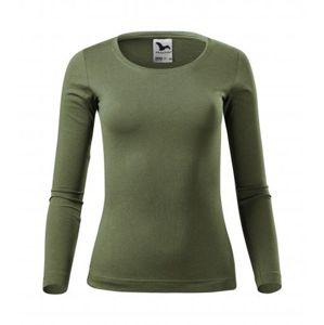 Dámské tričko s dlouhým rukávem Fit-T Long Sleeve - Khaki | M