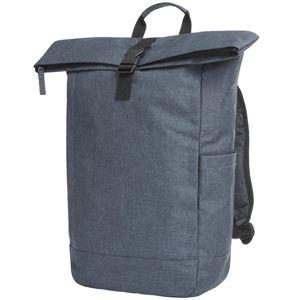 Městský batoh CIRCLE - Modro-šedě kropenatá