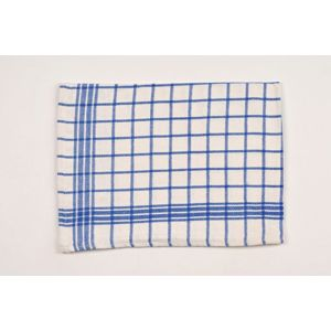 Dobrý Textil Bavlněná kuchyňská utěrka MONA - Modrá
