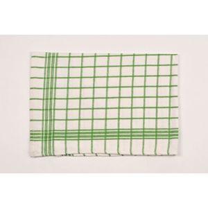 Dobrý Textil Bavlněná kuchyňská utěrka MONA - Zelená