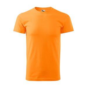 Adler Pánské tričko Basic - Mandarinkově oranžová   XXXL
