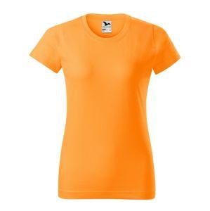 Adler Dámské tričko Basic - Mandarinkově oranžová | L