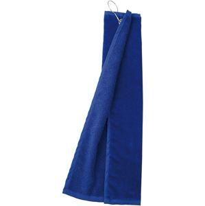Golfový ručník MB432 - Tmavá královská modrá