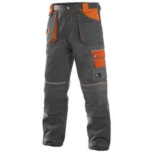 Montérkové kalhoty ORION TEODOR - Šedá / oranžová | 50