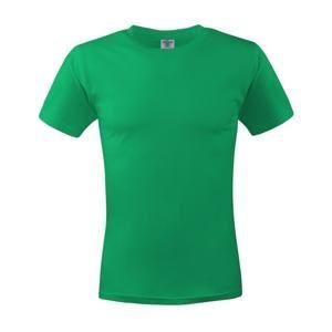 Pánské tričko ECONOMY - Trávově zelená | S