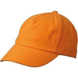 Dětská 5P kšiltovka MB7010 - Oranžová